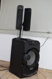 Mini System também na opção de soundbar/ Sony Mhc Gt5d