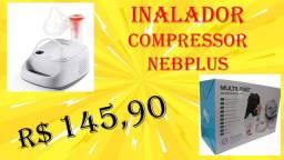 Nebulizador/Inalador Portátil Multilaser - Neb Plus