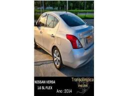 Nissan Versa sl 1.6 flex completo excelente estado preco real raridade
