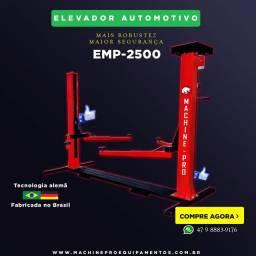 Elevador Automotivo Novo | Capacidade 2,5 Toneladas | Trifásico | Marca Machine-Pro