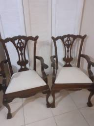 Cadeira imperial estilo inglês