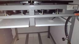 Título do anúncio: Vendo fogão industrial 4 bocas de alta pressão