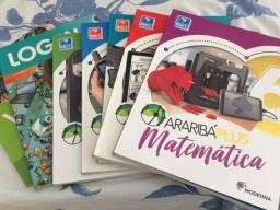 Livros Araribá plus 6º ano
