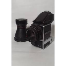 Câmera Hasselblad 500EL/M + Objetivas Carls Zeiss 80mme40mm