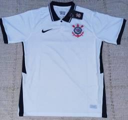 Camisa do Corinthians Nike 2021 Importada Entrego