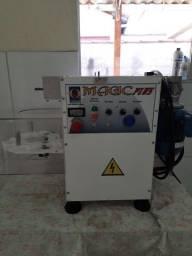Máquina de salgados,seladora,misturela, caixa