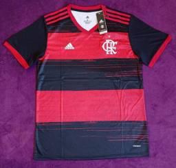Camisa do Flamengo rubro-negra (Disponível: G, GG e EGG)