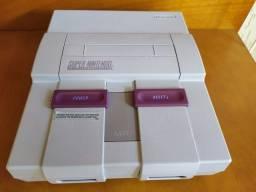 Super Nintendo Modelo SNS-001 (Confira a descrição)