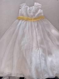 Vestido para batizado os casamento daminha