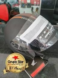 Motos Capacete Aberto Honda HSS em 6x no cartão