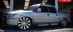 Jogo Rodas 22 com Pneus ! Amarok S10 Captiva BMW LandRover