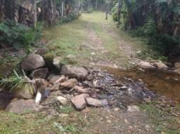Terreno à venda fundos para o rio, 1700 m² por r$ 55.000 - rio sagrado - morretes/pr