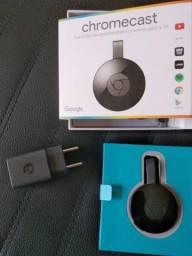 Google ChromeCast Original / Transforma TV em Smart / Caixa / Anápolis