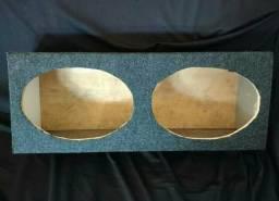 Caixa (box) para alto falantes 6x9 NOVA!!!