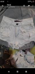 2 shorts tamanho 34/36