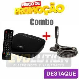 Combo Conversor Digital + Antena Digital