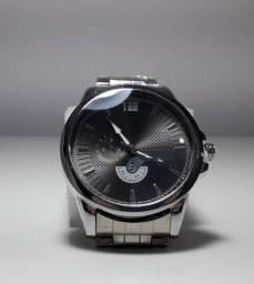 8074ba3f889 Relogio de pulseira de aço masculina