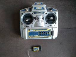 Radio Hk6S aeromodelo com receptor
