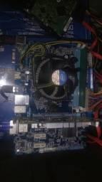 Kit 1155 com i3 2100 e 2 gigas ddr3 1333