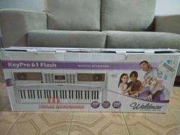 Teclado Musical Waldman Keypro 61 Flash / Cinza / Digital / Anápolis