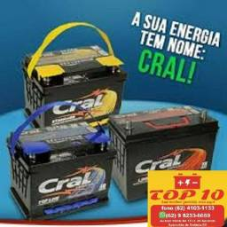 Oferta Limitada Bateria Cral, Apenas 04 Disponíveis 4103-1133, + Instalação Grátis