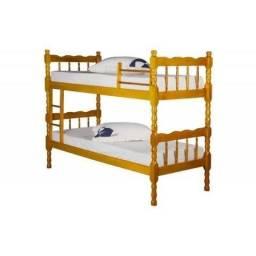 Beliche torneada madeira vira duas camas - vários modelos - Entrega rápida!!!
