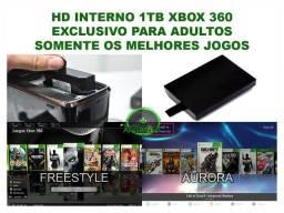 HD interno de 1tb Xbox 360 Rgh