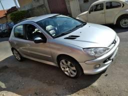 Vendo Peugeot206 versão FELINE Flex