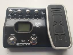 Pedaleira Zoom G2.1nu para guitarra