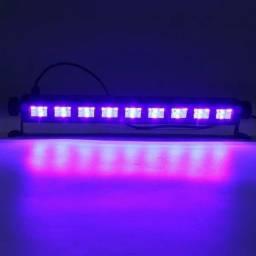 Ribalta Led 30cm Luz Negra Canhão Iluminação Profissional Bivolt Promoção