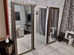 Espelhos NOVOS GRANDES ( Unidades Limitadas ) Molduras em Madeira