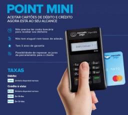 Promoção máquina de cartão point Mini.  Apenas R$:10,00