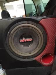 "Caixa Subwoofer Nitro 12"" 700 rms"