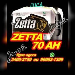 """ZETTA 70 ah com 12 meses de garantia!!! PREÇO CAMPEÃO"""""""""""";:"""