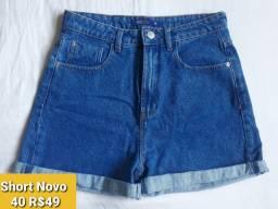 Shorts Jeans Novos 38/40