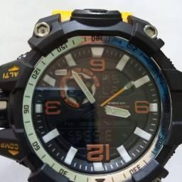 Relógio g shock 1 linha aprova de água