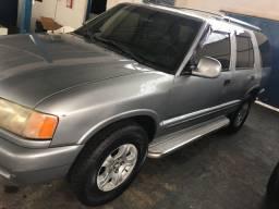 Blazer V6,1997, completa, prata, couro