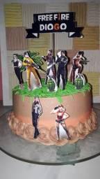 Kit festa e bolos temático em promoção