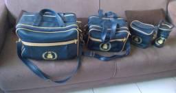 Kit de bolsas maternidade Azul Marinho