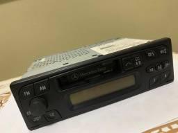 Rádio toca fitas áudio 5 original Mercedes classe a160