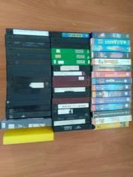 Fitas VHS vários títulos usadas em bom estado