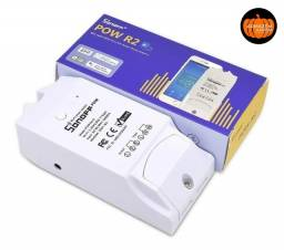 Sonoff Pow R2 Medidor Consumo Energia Wifi Automação Alexa Google Tuya