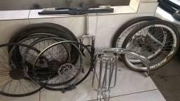 Peças de bike a venda!!ou troco em outras(suspensão,passadores Shimano etc..)confira!!