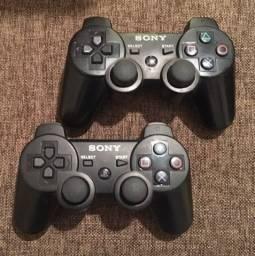 1 controle original ps3 é outro de outra marca