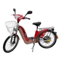 Bicicleta Eletrica Sousa Vermelha