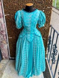 Vestido Princesa Ariel - Adulta