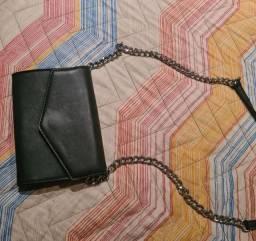 bolsa carteira preta