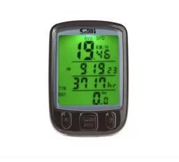 Velocímetro Odômetro Bike 24 Funções Computador Sensor Com Fio, Luz Noturna à Prova D'água