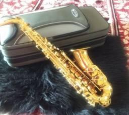 Saxofone alto júpiter + boquilha Everton hard Rubber n° 7