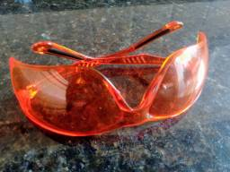 Óculos de proteção EPI Laranja